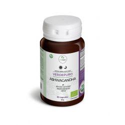 MYVITALY® Verdepuro Ashwagandha 600 mg enriched with olive leaf